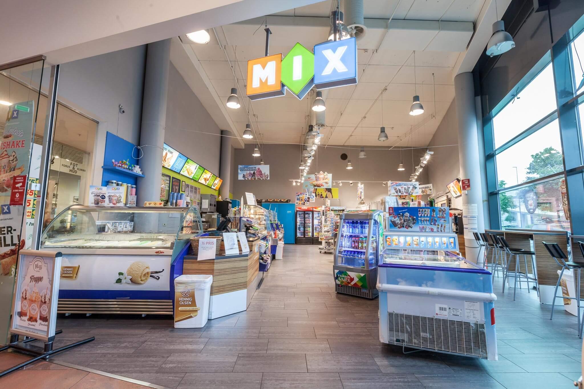 Forus Kiosk og spill TVEDTSENTERET